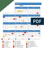 Calendario Belem Pa 2018