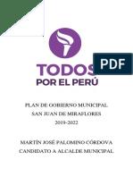 Plan Todos Por El Perú