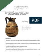 Resumen Textos Sobre Vaso de Chigi