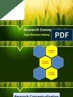 Research Conceptualization