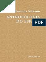 Antropologia Do Espaço -Filomena Silvano
