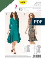 Vestido Mujer 6574