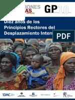 Revista Migraciones Forzadas. Diez Años de Los Principios Rectores Del Desplazamiento Interno.