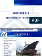Ship Repair Most Common Vocabulary