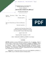 Nwanguma v. Trump - 6th Circuit Opinion Dismissing Case 9-11-2018