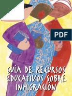 Guía de Recursos Educativos sobre Inmigración
