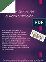 Escuela Social de La Administración