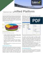Talend Unified Platform