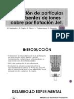 Remoción de partículas adsorbentes de iones cobre por.pptx