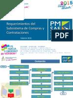 Requerimientos Subsistema Compras y Contrataciones Abril2015