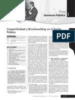 LECTURA.competitividad y Benchmarking en El Sector Público