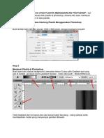 tutorial Efek Foto Di Atas Plastik Photoshop