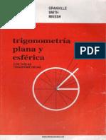 Trigonometría Plana y Esférica - Granville, Smith, Mikesh - 1ed