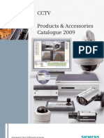 CCTV Product Catalogue 2009