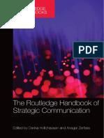 Derina Holtzhausen, Ansgar Zerfass-The Routledge Handbook of Strategic Communication-Routledge (2014)