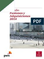 Estudio Fusiones y Adquisiciones 2014