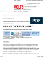 OP-AMP COOKBOOK — Part 1 - Nuts & Volts Magazine - For the Electronics Hobbyist