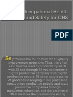 5S and Occupational Health and Safety for CHS