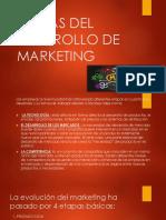 Etapas Del Dearrollo de Marketing
