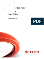 Mentor Server Admin v9.1 User Guide