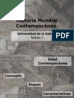 Sesion 1 - Historia Mundial Contemporánea