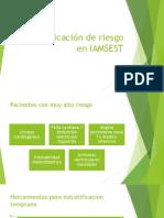 Estratificación de Riesgo en IAMSEST
