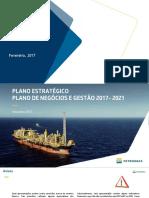 PLANO ESTRATÉGICO PLANO DE NEGÓCIOS E GESTÃO 2017- 2021