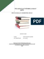 Rpp Dan Evaluasi Fix