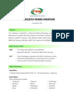 Company Profile - PT. Trijaya Usaha Mandiri.pdf