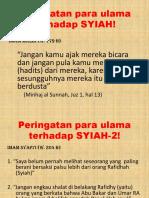 Pendapat Ulama Ttg Syiah