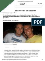 O Passado Playsson-emo de Eduardo Bolsonaro - VICE