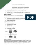 Desarrollo de Aplicaciones Web en Capas