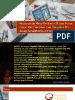 01. Overview Manajemen Mutu Berbasis TI Dan Peran Pokja