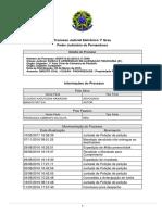 Processo 3276-41.2015.8.17.8222 (Francisca x Banco Fiat) Arquivado Por Abandono de Causa