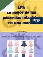 Alexandra Azpúrua - EPK, Lo Mejor de Las Pasarelas Infantiles en UnaMarca