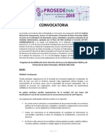 Convocatoria-PROSEDE-2018