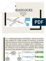 Deadlocks in Operating Systems