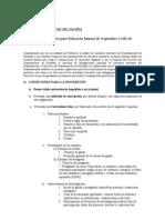 Reglamento selección interna provisorio de JTP - 2009 (actual)