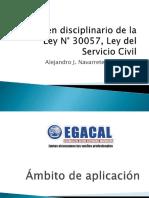 17-3-17 CAP Navarrete Regimen Disciplinario de La LSC