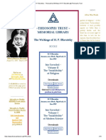 H.P. Blavatsky - Theosophical Writings of H.P. Blavatsky @ Theosophy Trust
