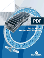 Girth Gear Manual