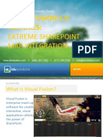 Visual Fusion 5.0 Extreme SharePoint Map Integration