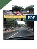 Ley de Trasporte Terrestre, Transito y Seguridad Vial