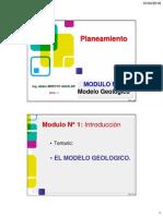 Sesión 2 Modelo Geológico