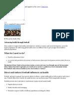 Advancing health through football - Football - The University of Edinburgh.pdf