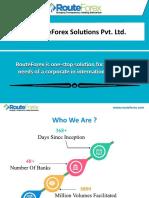 RouteForex SoluƟons Pvt. Ltd.