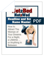 Net2Bed System Headline Mastery v2.0