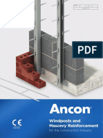 Ancon Windposts brochure