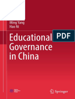 Educational Governance in China