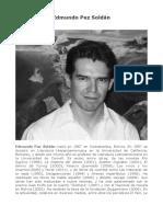 Edmundo Paz Soldan CUENTOS